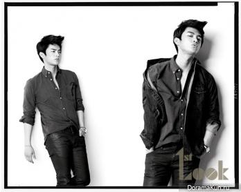 Seo In Guk для First Look 2012