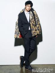 Seo In Guk для Marie Claire November 2012