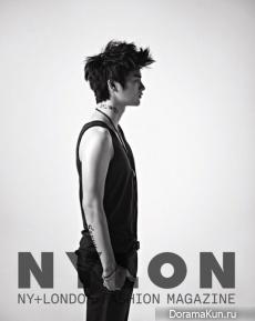 Seo In Kook для Nylon September 2012