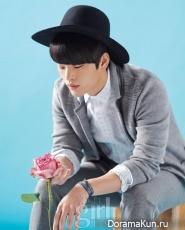 Seo In Guk для Vogue Girl March 2013