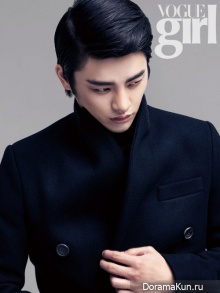Seo In Guk для Vogue Girl November 2012