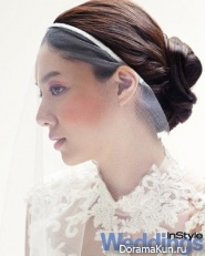 Seo Ji Hye для Instyle Weddings 2012