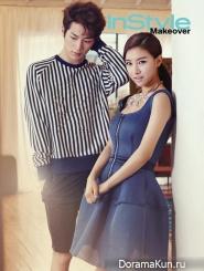 Seo Kang Joon, Kim So Eun для Instyle June 2014