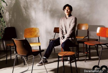 Shin Ha Kyun для GQ Korea April 2013