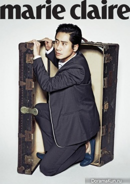 Shin Ha Kyun для Marie Claire April 2013