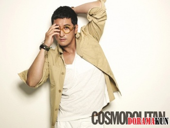 Shin Hyun Joon для Cosmopolitan Korea July 2012
