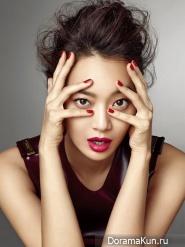 Shin Min Ah для Allure Korea August 2013