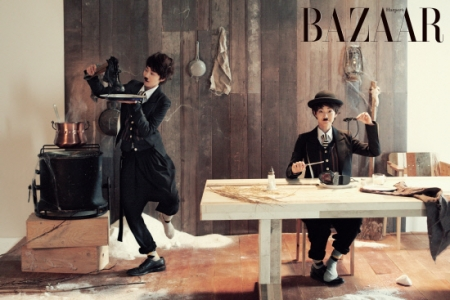Shin Min Ah для Harper's Bazaar Korea June 2011