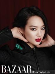 Shin Min Ah для Harper's Bazaar September 2012