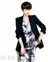 Shin Min Ah для Sure April 2011