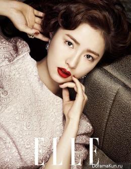 Shin Se Kyung, Kim Hyo Jin для Elle Korea January 2014