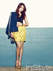 Sistar (Bora, Dasom) для Instyle Korea September 2013