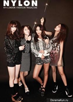 Sistar для Nylon Korea September 2013