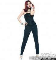 Soyou, Dasom (Sistar) для Singles February 2013