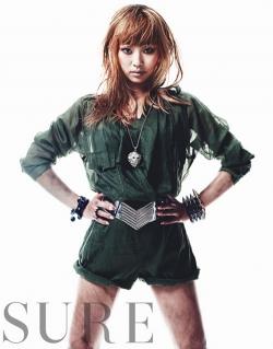 SISTAR's Hyorin для Sure September 2011