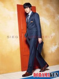 So Ji Sub для Sieg Fahrenheit 2012 Ad Campaign