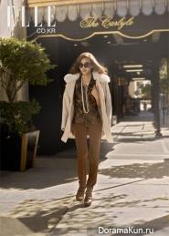 Son Dam Bi для Elle 2010