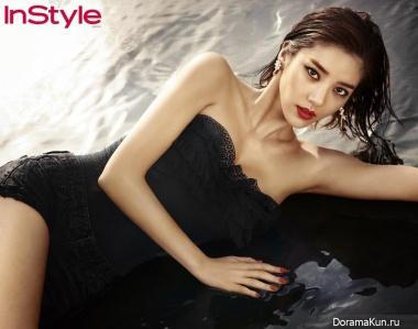 Son Dam Bi для InStyle Magazine June 2014