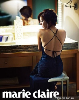 Son Dam Bi для Marie Claire March 2013