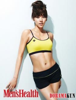 Son Dam Bi для Men's Health Korea 2012