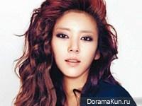 Son Dam Bi для Singles April 2013