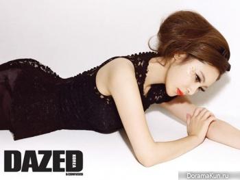 Son Eun Seo для Dazed & Confused February 2013