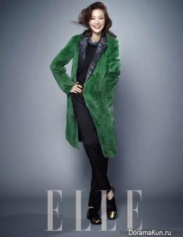 Son Tae Young для Elle December 2013