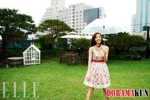 Son Tae Young для Elle Magazine August 2012