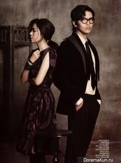 Lee Min Ki, Son Ye Jin для Harper's Bazaar 2011