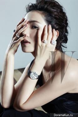 Son Ye Jin для W Korea 2011
