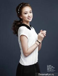 Son Yeon Jae для J.Estina 2012 CF