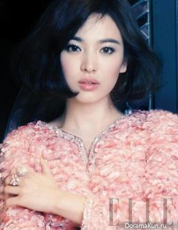Song Hye Kyo для Elle January 2013