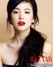 Song Hye Kyo для Harper's Bazaar China October 2013