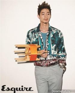 Song Jae Rim для Esquire December 2012
