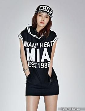 Song Ji Hyo для NBA 2014 CF