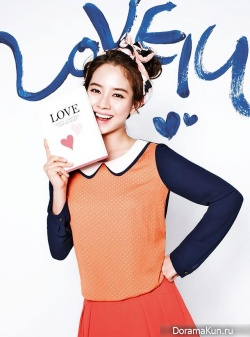 Song Ji Hyo для YESSE Spring 2013 Ads