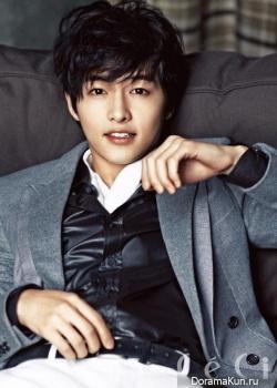 Song Joong Ki для CeCi January 2013