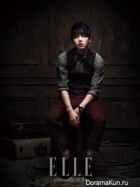 Song Joong Ki для Elle September 2012