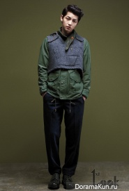 Song Joong Ki для First Look Vol. 28