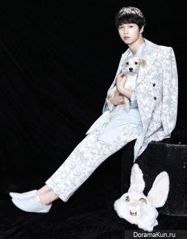 Song Joong Ki для OhBoy! April 2013
