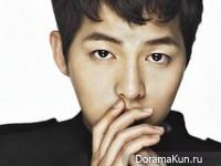 Song Joong Ki для Singles December 2012 Extra