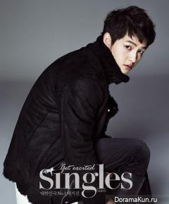 Song Joong Ki для Singles December 2012