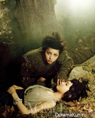 Song Joong Ki, Park Bo Young для Vogue October 2012