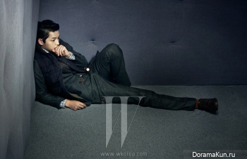 Song Joong Ki для W Korea November 2012