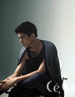 Sung Joon для CéCi Korea July 2011