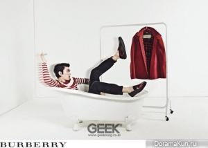 Sung Joon для GEEK Magazine February 2013