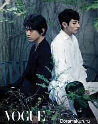 Sung Joon, Lee Soo Hyuk для Vogue June 2013