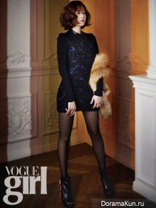 Sung Yuri для Vogue Girl November 2012