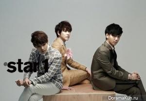 Super Junior KRY для @Star1 Korea March 2013