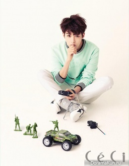 Super Junior (RyeoWook) для CeCi Magazine June 2014